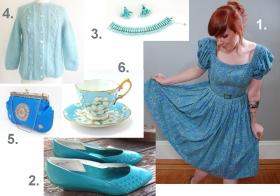 Style Guide: Vintage Aqua